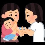 1歳の予防接種の翌日に、発熱事件!