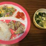【離乳食完了期〜幼児食】お魚の日の献立集③(1歳5ヶ月)