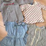 【保育園準備(0・1歳)】Tシャツ編〜必要枚数・オススメショップ等について
