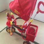 2歳の誕生日プレゼントは、アンパンマン三輪車に決めた!~経緯と決め手について