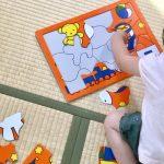 2歳のパズル遊び〜購入したパズルやアンパンパズルの遊び方等について