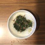 【離乳食後期】ビビンバからの取り分け「牛肉とほうれん草・もやしのあんかけご飯」