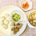 子ども+大人ご飯の献立集(1歳11ヶ月・春③)