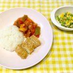 子ども+大人ご飯の献立集(2歳2ヶ月・夏①)