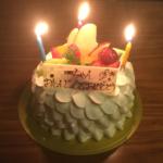 3歳の誕生日♪お食事やプレゼントの記録。
