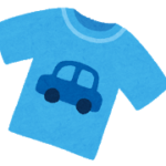 メルカリで、保育園用Tシャツ(3枚)を無料でゲット!〜方法や感想など