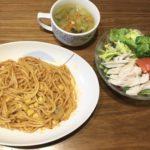 野菜スープの日の簡単献立(2日分)