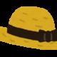 お気に入りの帽子のおかげで帽子好きになった。