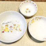 【100均】セリアでかわいいお皿を発見!